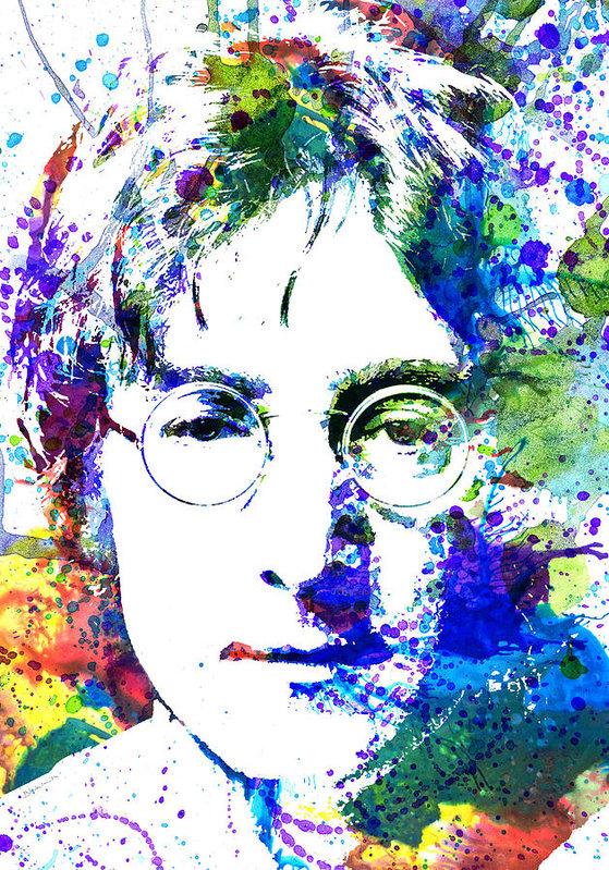 Dante Blacksmith - John Lennon Print