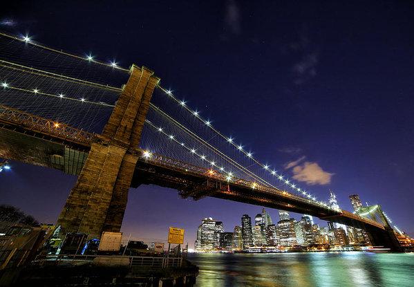 Arya Rossman - Brooklyn Bridge Print