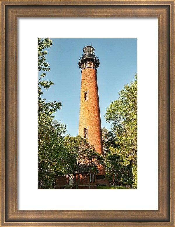 Phyllis Taylor - Currituck Beach Lighthous... Print