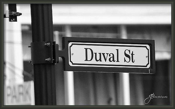 William Arenas - Duval Street Print