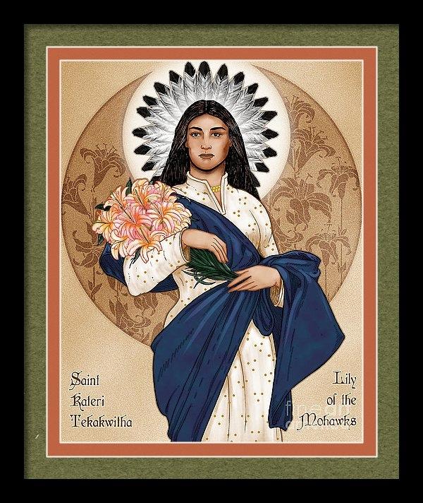 Lawrence Klimecki - Lily of the Mohawks Print