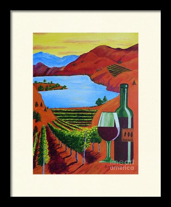Alicia  Fowler - Okanagan Wine Country Print