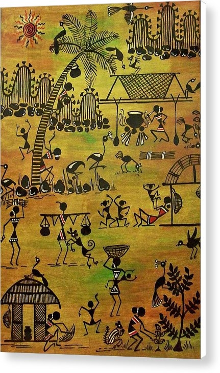 Ivy Sharma - Tribals I Print
