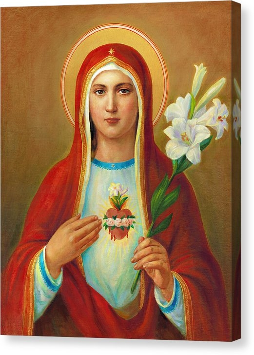 Svitozar Nenyuk - Immaculate Heart of Mary Print