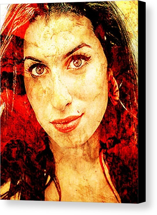 Jose Espinoza - Amy Winehouse Print