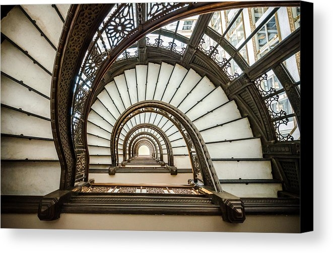 Anthony Doudt - Rookery Building Oriel St... Print