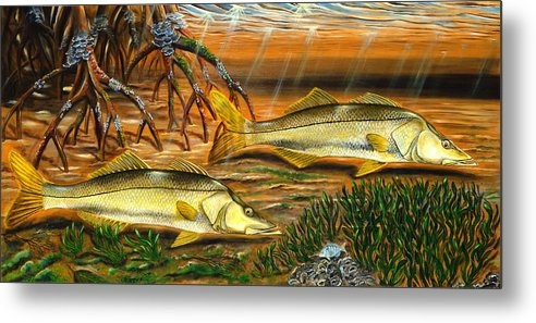 Steve Ozment - Snook in the Mangroves Print