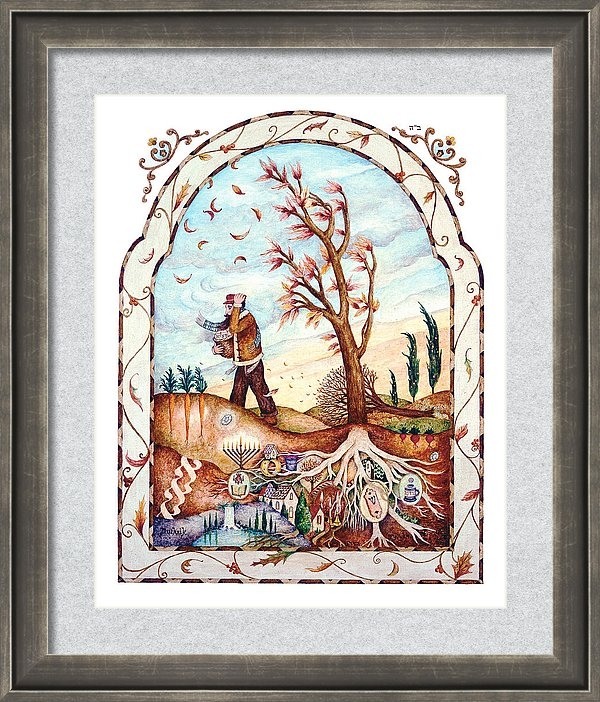 Michoel Muchnik - Roots Print