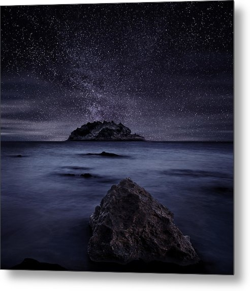 Jorge Maia - Lights of the past Print