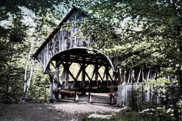 Chandler McGrew - Artists Covered Bridge Print