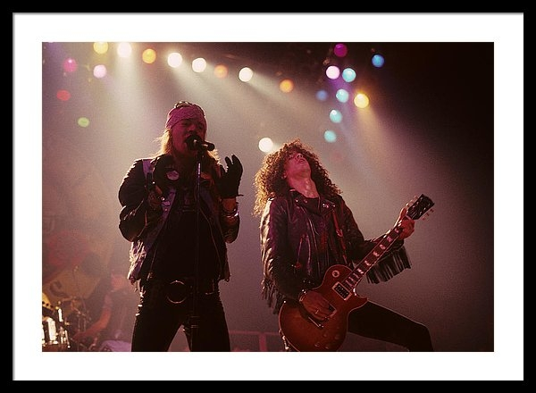 Rich Fuscia - Axl Rose and Slash Print