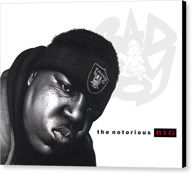 Lee Appleby - Notorious B.I.G Print