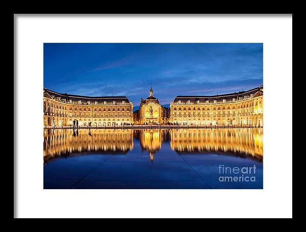 Delphimages Photo Creations - Water Mirror Print