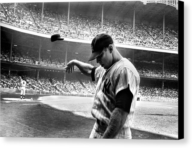 Gianfranco Weiss - Mickey Mantle Print