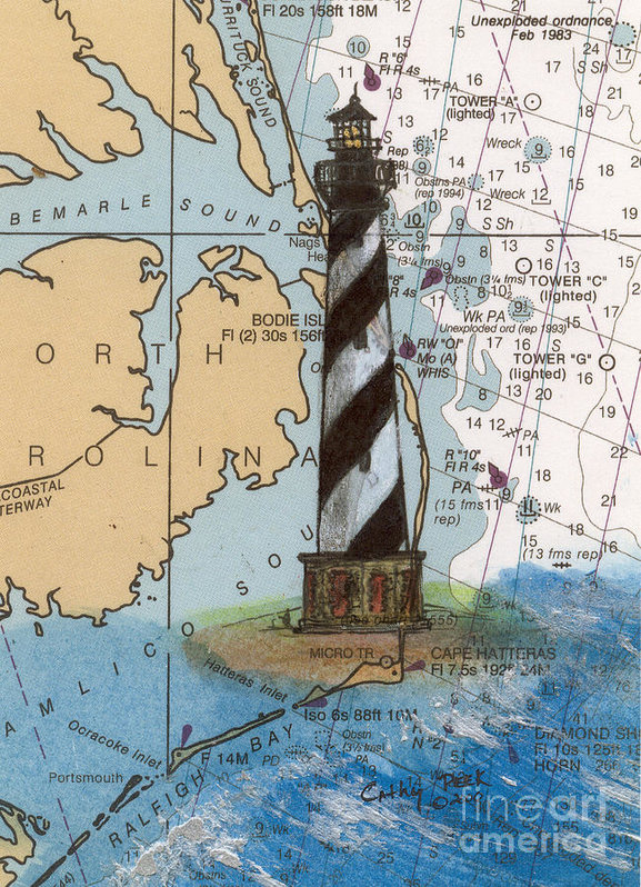 Cathy Peek - Cape Hatteras Lighthouse ... Print