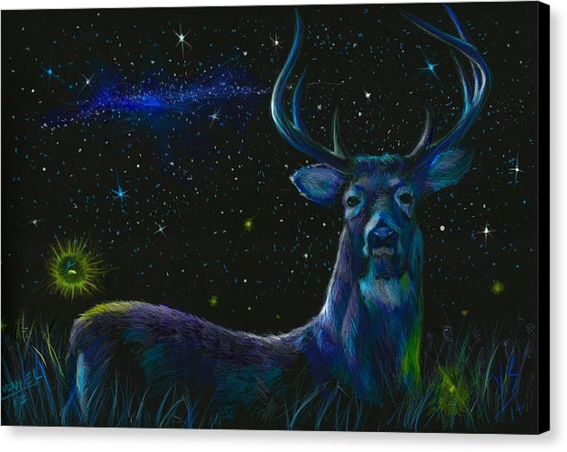 Yusniel Santos - The serenity of the night... Print