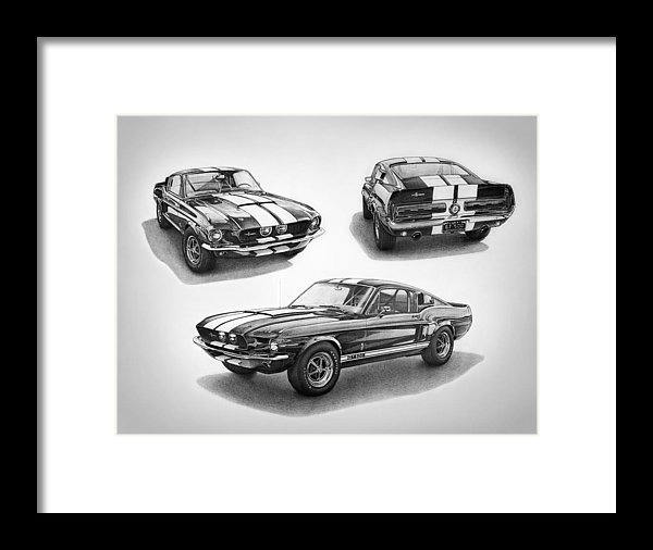 Nick Toth - 1967 Shelby GT500 Mustang Print
