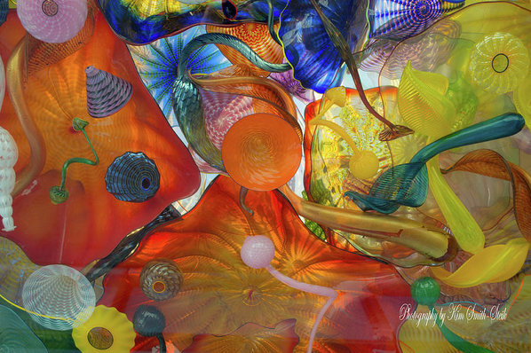 Safe Haven Photography Northwest - Chihuly Glass 2 Print