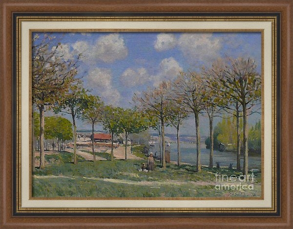 MotionAge Designs - The Seine at Bougival Print