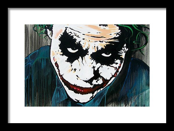 Jack Irons - Why So Serious Print