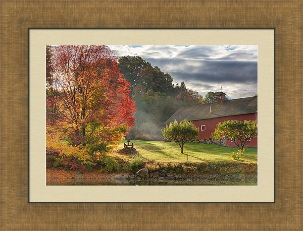 Bill Wakeley - Early Autumn Morning Print