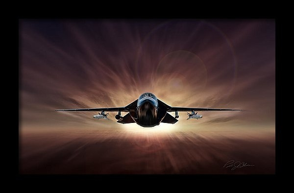 Peter Chilelli - Special Delivery F-111 Print