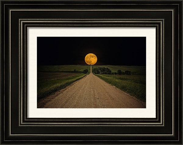 Aaron J Groen - Road to Nowhere - Supermo... Print