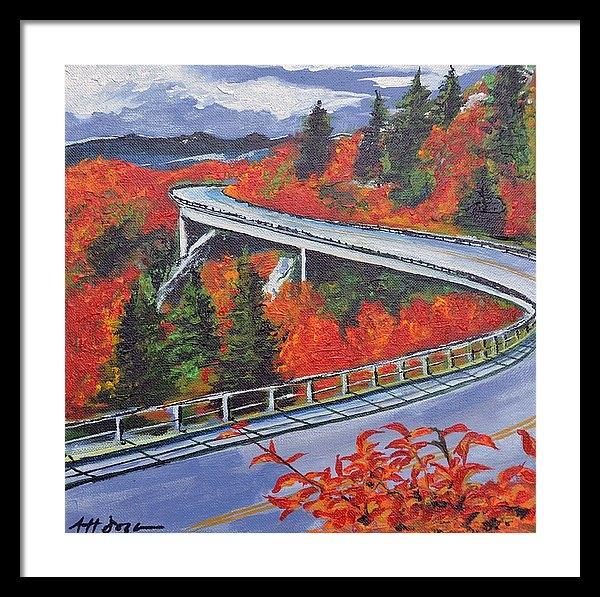 Nancy Hilliard Joyce - Fall - Blue Ridge Parkway Print