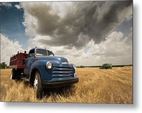 Chris Harris - Chevy Grain Truck 2016 Print