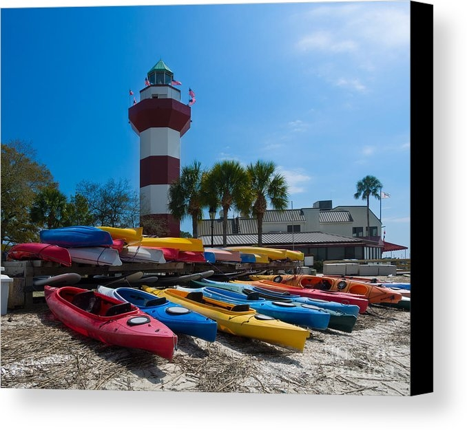 Louise Heusinkveld - The famous lighthouse at ... Print