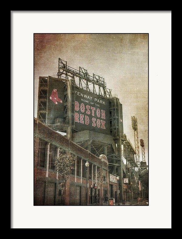 Joann Vitali - Fenway Park Billboard - B... Print