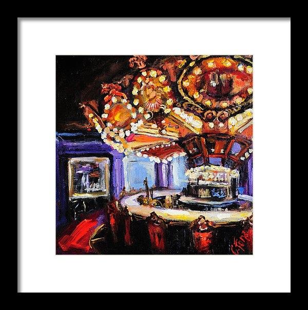 Carole Foret - Hotel Monteleone Bar Print