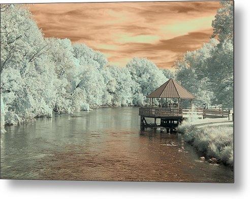 Anthony Cornish - Riverside Park Infrared 2 Print