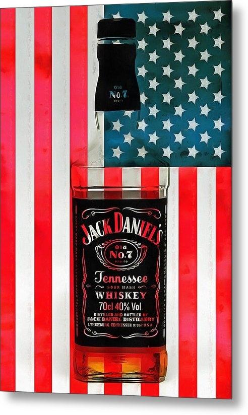 Dan Sproul - American Whiskey Jack Dan... Print