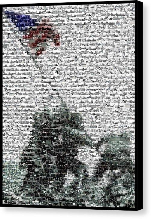 Paul Van Scott - Iwo Jima War Mosaic Print