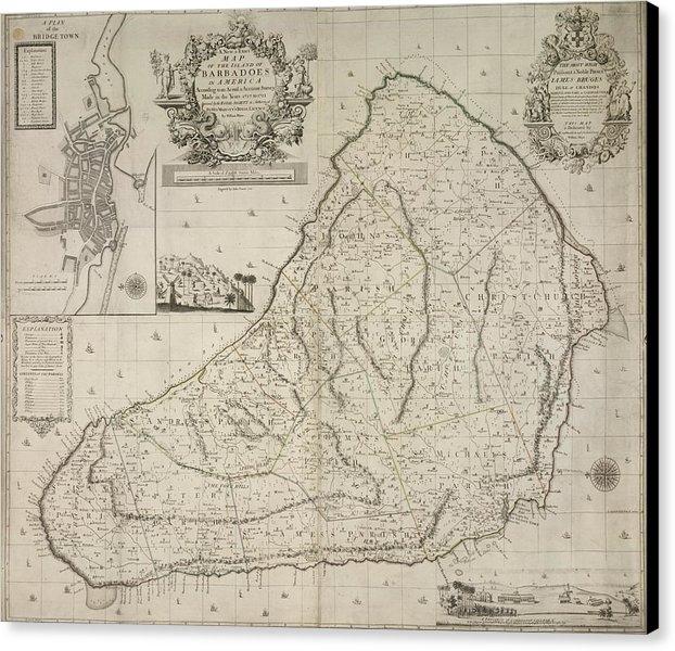 British Library - Barbados Print