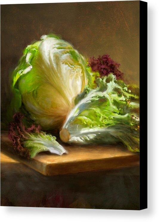 Robert Papp - Lettuce Print