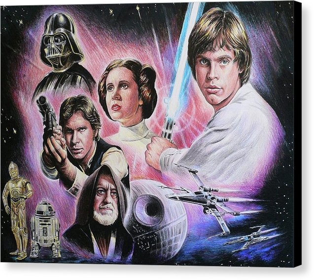 Andrew Read - May The Force Be With You Print