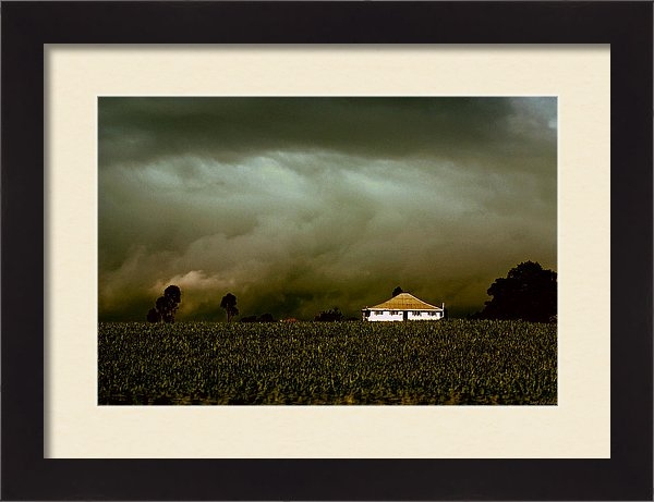 Holly Kempe - Storm on the Rise Print