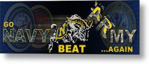 Mountain Dreams - Go Navy Beat Army Print