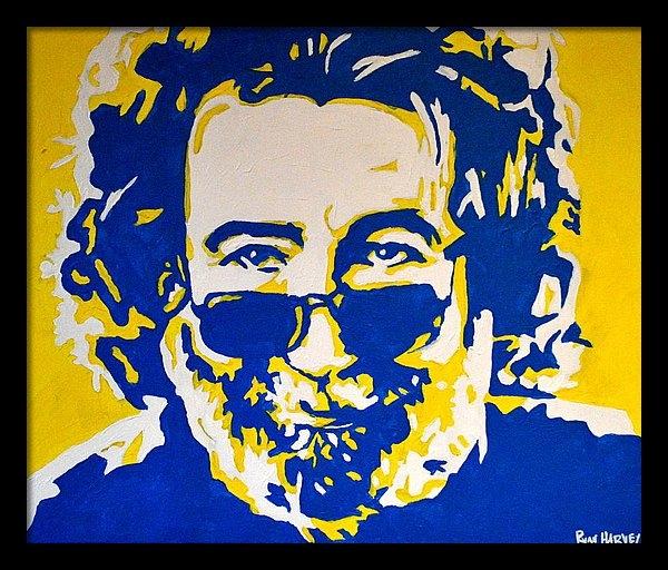 Ryan Harvey - Jerry Garcia Print