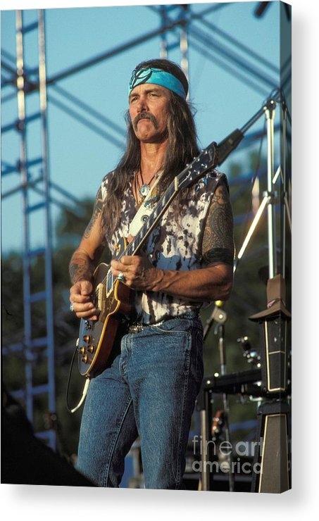 Concert Photos - Guitarist Dickie Betts Print