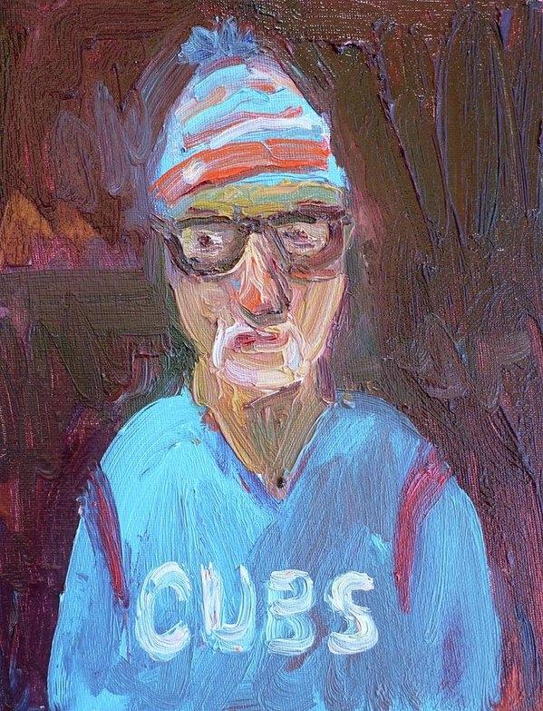 John Kilduff - Joe Maddon Cubs  Print