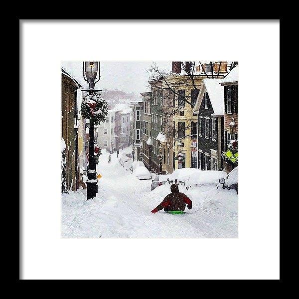 Sarah Levy - Boston Snow Day Print