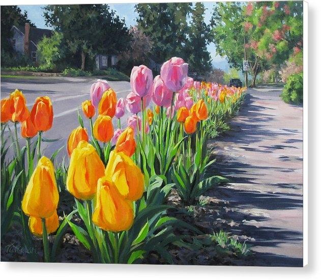 Karen Ilari - Street Tulips Print