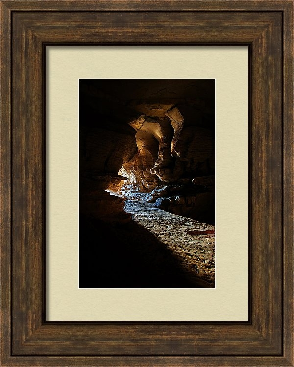 Phill Dobbs - Great Saltpetre Cave Print