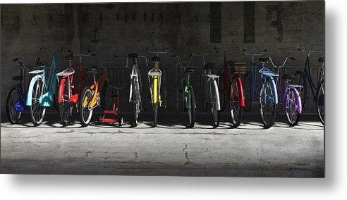 Cynthia Decker - Bike Rack Print