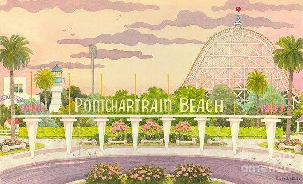 Joyce Hensley - Pontchartrain Beach Print