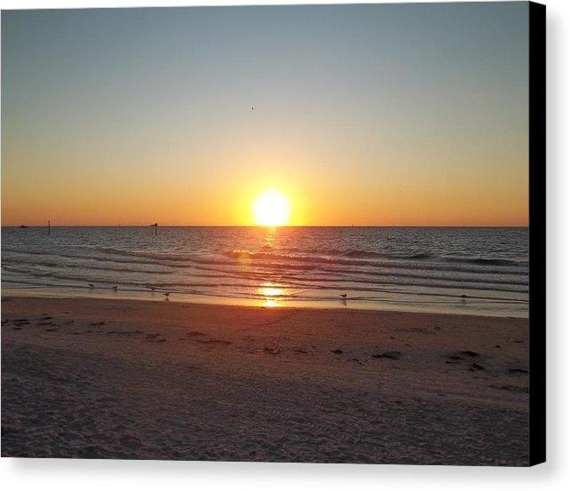 John Rulon - Clearwater Beach Sunset Print