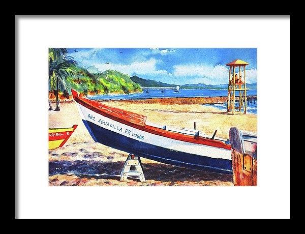Estela Robles - Crash Boat Beach Print